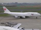 2つ前の塗装な鶴丸B747@羽田