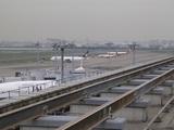 駐機場を望む@羽田第一ターミナル