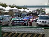 レースカー群