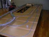 高架線の大半とホームストレートが完成