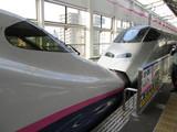 福島駅で分割する列車