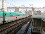 東京へ向け発車