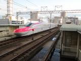 仙台駅ホーム離脱