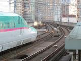 上りE5系仙台発車