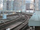 仙台駅場内に進入中の「やまびこ」63号