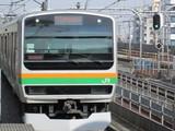 湘南新宿ライン南行列車
