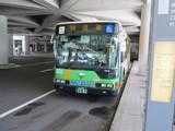 回送バス到着