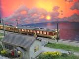 夕暮れのローカル線の駅