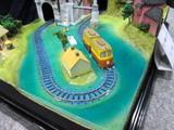 水上を行く列車