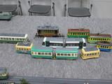 Oゲージの路面電車たち
