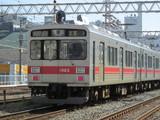 蒲田に到着するクハ1023号車