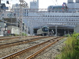 東急蒲田駅より池上線発車