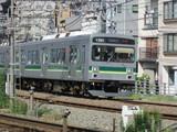 蒲田駅に進入するクハ1701号車