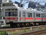 蒲田駅に進入するクハ1013号車