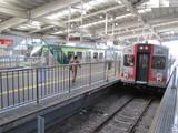 東急蒲田駅多摩川線ホーム