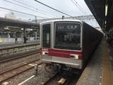数が減りつつある東武20000系電車