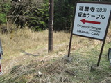 ロード・トゥー・登山道