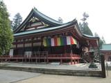 延暦寺大講堂横側