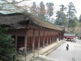 延暦寺根本中堂を斜め上から