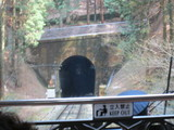 トンネル進入前
