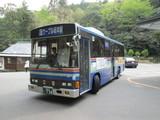 旋回中の江若バス