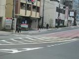 京津線の併用軌道も合流する