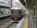 南方駅を通過する快速急行の7300系