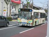 回送中の尼崎市営バス