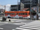 オレンジ雲電車@モ504号車