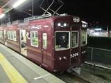 長岡天神まで乗ってきた普通電車