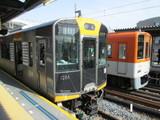 快速急行電車と急行電車@甲子園駅