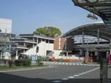 大分工事が進んでいる甲子園駅