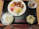 鶏の龍田揚げ定食