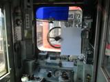 キハ222の運転台と謎の張り紙