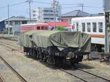 元東武トラ1形無蓋貨車