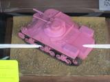 ピンクの痛いM3中戦車