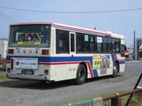 バス車庫端にいたバス