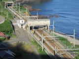 結構青海川駅が大きく撮れる位置