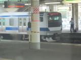水戸線ホームにE531系