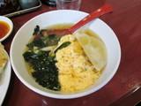 ラーメンどんぶり級餃子スープ