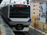 水戸行普通列車のE531系