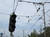 信号機とトロリーコンタクター