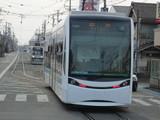 駅前行T1000形とモ787号車
