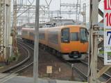 名古屋へ向かう22000系特急電車