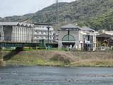 宇治川橋梁と京阪宇治駅