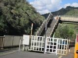 トロッコ保津峡駅の跨線橋