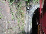 亀山トンネル進入