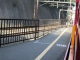 トロッコ嵐山駅ホーム