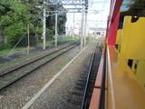トロッコ嵯峨駅へ分岐する