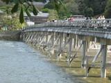 渡月橋全景